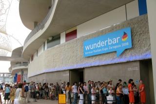 """Deutscher Pavillon """"wunderbar"""" EXPO 2008."""
