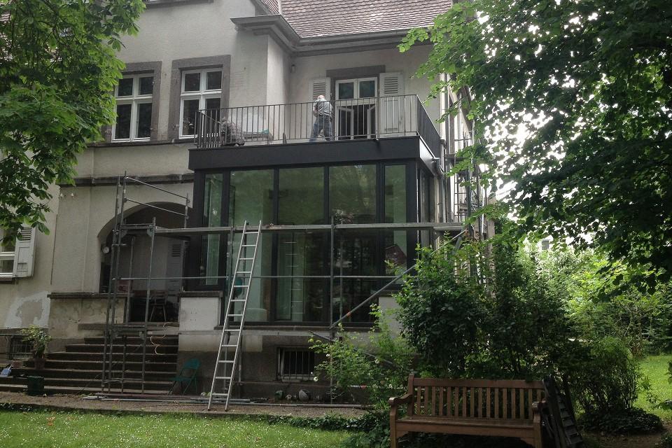 Wintergarten Holbein 12 K56 Architekten